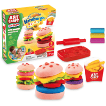 DeDe Hamburger Play Dough Set