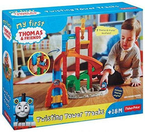Fisher Price Thomas and Friends My First Twisting Tower Tracks - 1