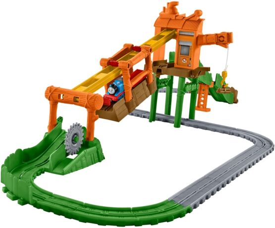 Thomas & Friends Adventures Misty Island Zip-Line Train Playset - 1
