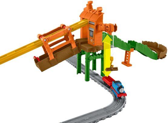 Thomas & Friends Adventures Misty Island Zip-Line Train Playset - 3