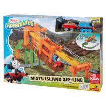 Thomas & Friends Adventures Misty Island Zip-Line Train Playset