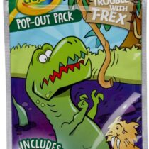 Crayola Dinosaur Coloring Activity Pop Out Characters & Stickers