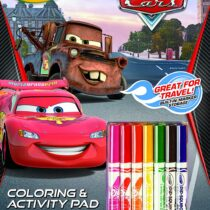 Crayola Disney Pixar Coloring and Activity Book with Marker