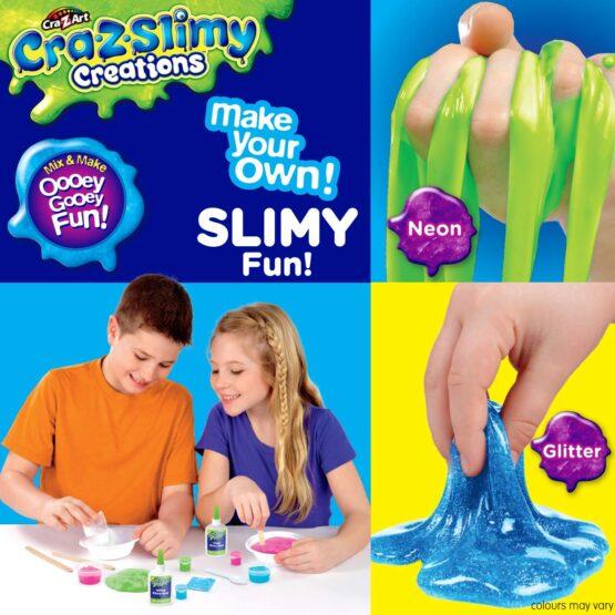 Cra-Z-Art-Slimy Creations Slimy Fun Kit