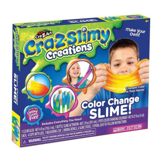 Cra-Z-Art Slimy Creations Color Change Slime