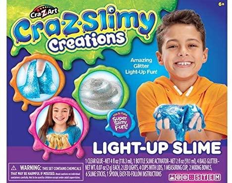 Cra-Z-Art Cra-Z-Slimy Light Up Slime kit