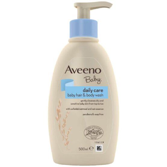 Aveeno Baby Daily Care Baby Hair & Body Wash 500ml