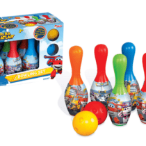 DeDe Super Wings Bowling Set
