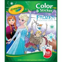 Frozen Theme 75pcs Color & Sticker Set Kids Fun