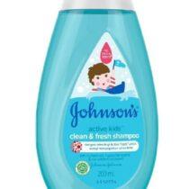 Johnson's Kids Active Clean & Fresh Shampoo 200ml