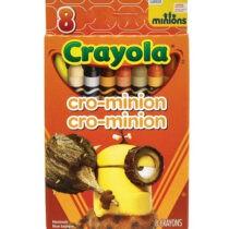 8pcs Cro Minnion  Set for School Kids colours