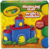 Crayola 4 Color Modeling Clay