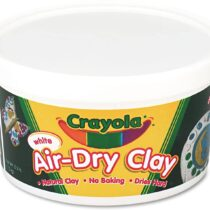 Crayola Air-Dry Clay White 2.5LB