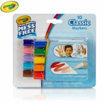 Crayola Colour Wonder Mess Free 10 Classic Mini Marker