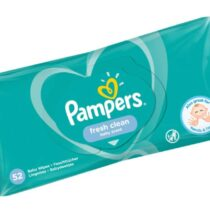 Pampers Fresh Clean Baby Scent Wipes 52 Count