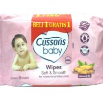 Cussons Baby Wipes Soft And Smooth 50 Sheets