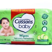 Cussons Baby Wipes Naturally Refresing 50 Sheets