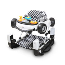 Tinnies Baby Walker w / Rocking Black