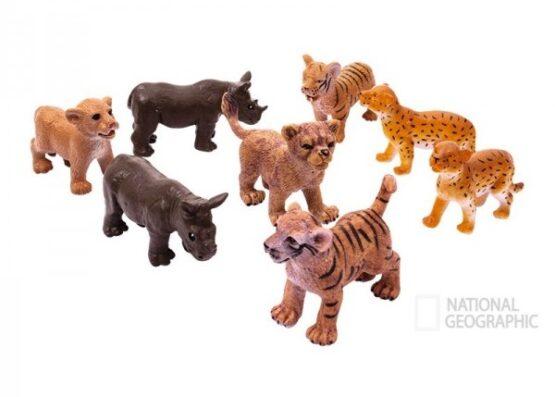 National Geographic 08 pcs Set Animals