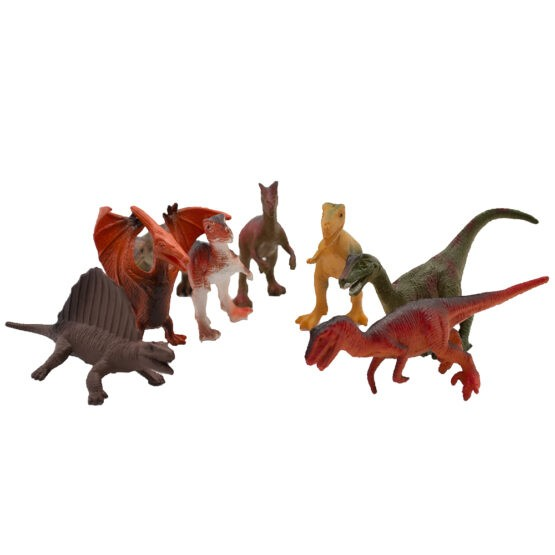 National Geographic 08 pcs Set Dinosaurs Animals