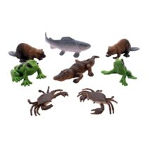 National Geographic 08 pcs Set Mixed Animals