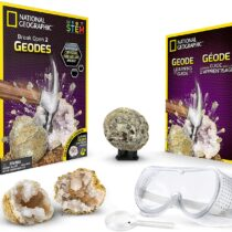 National Geographic Break Open 2 Real Geodes and Explore Crystals