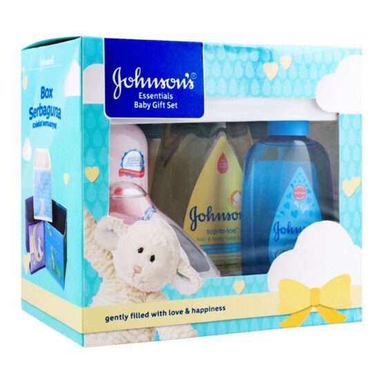 Johnson's Essentials Baby Gift Set 4 Pieces