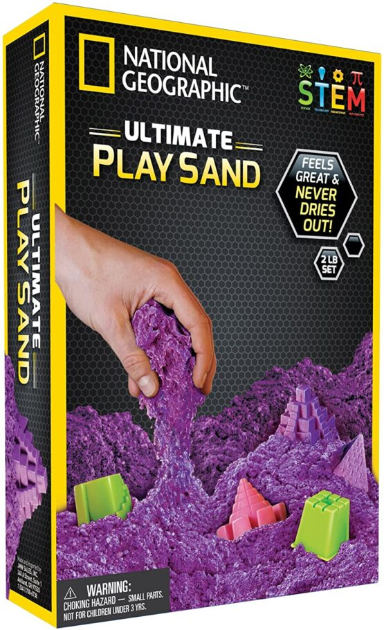 National Geographic Play Sand 900g Blue