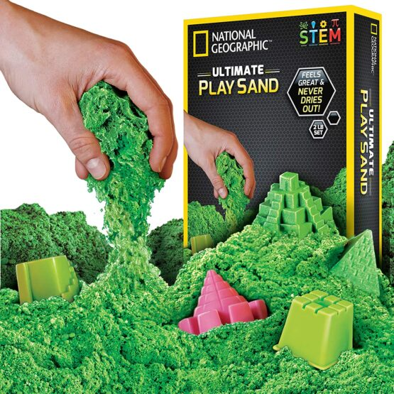 National Geographic Play Sand 900g Green