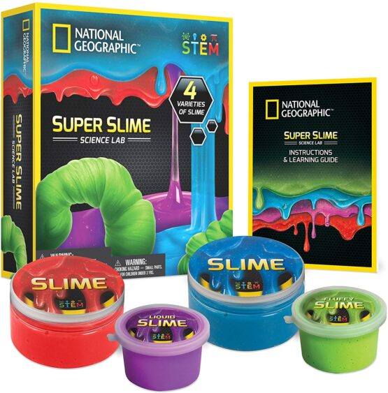 National Geographic Super Science Lab Slime Kit