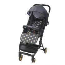 Tinnies Baby Stroller Gold Dot