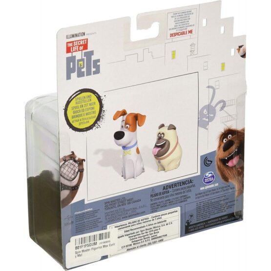 The Secret Life of Pets Max and Mel Vinyl 2 Pack Altx