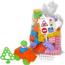 Polesie Set Builder Construction Toy Set 68 Pieces