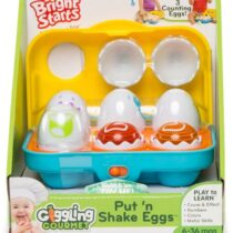 Bright Starts Giggling Gourmet Put and Shake Eggs