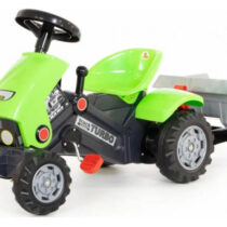 Polesie Turbo Pedal Tractor and Trailer Green