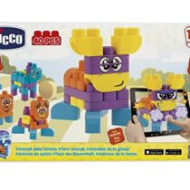 Chicco Toy Building Blocks Animals 40 Pieces
