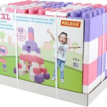 Polesie Building Bricks XXL with Connectors 45 Pcs