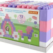 Polesie Building Bricks XXL with Connectors 72 Pcs