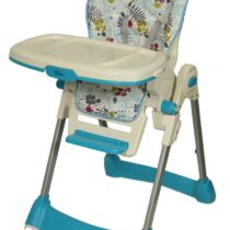 Tinnies Baby Adjustable High Chair Blue