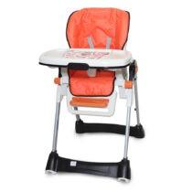Tinnies Baby Adjustable High Chair Orange