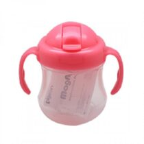Pigeon Mag Mag Straw Cup 200ml Pink