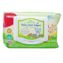 Farlin Baby Herbal Wet Wipes Green 85 pcs