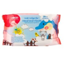 Farlin Baby Wet Wipes for Hand and Mouth 28 Pcs