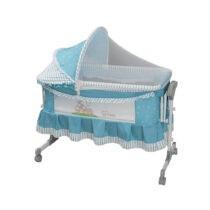 Tinnies Baby Crib for New Born Blue