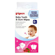 Pigeon Baby Tooth & Gum Wipes Strawberry Flavor