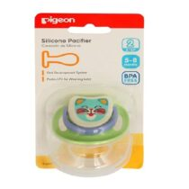 Pigeon Silicone Pacifier Step 2 Green