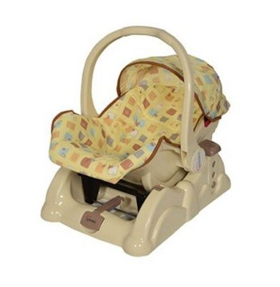 Tinnies Carry Cot Rocking Beige