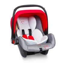 Tinnies Baby Carry Cot / Car Seat Red