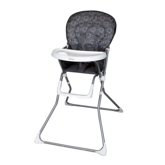 Tinnies Baby High Chair Grey