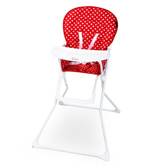 Tinnies Baby High Chair Red